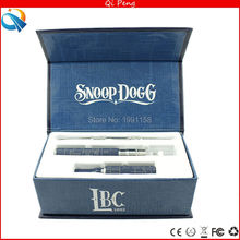 10pcs/lot Dry herb vaporizer kits Snoop Dogg starter Kits Wax Dry Herb Snoop Dogg vaporizador vaporizer vape e cigarette kit