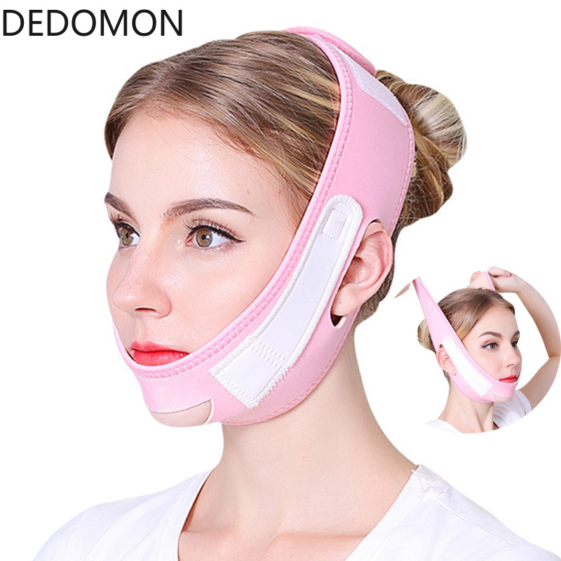 Face Lift Tape Face Slimming Massager Belt V Shape Mask Eliminates Sagging Skin Bandage Anti Aging Patch Facial Thining Band