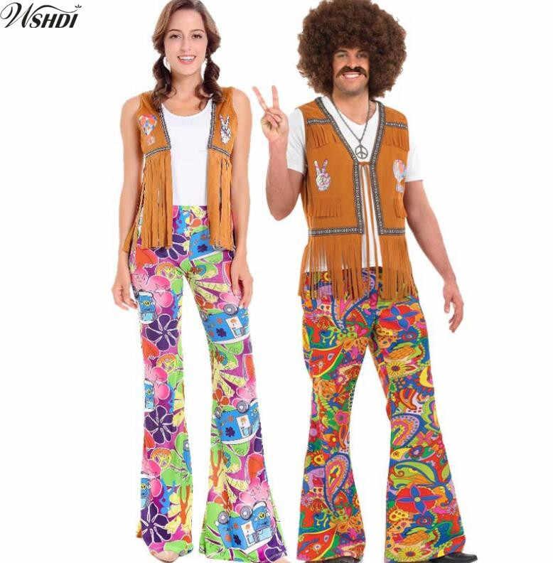 Detail Feedback Questions about Men Women 60s 70s Hippie