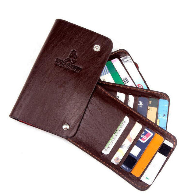 d7ed0eba0084b 30 Business Card Holders Wallet For Men Women Top Quality Leather Multi  Credit Card   ID