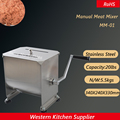 Пищевой нержавеющей стали ручной миксер для мяса колбасы 10l/20lbs Емкость