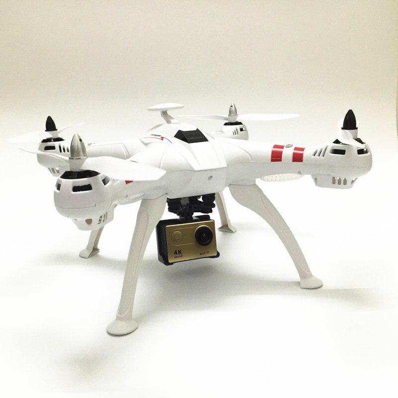 RC Drone Bayangtoys X16 Quadcopter sin escobillas Drone puede añadir GPS EKEN H9/H9R 4 K cámara HD 1080 p 12MP giroscopio RC helicóptero