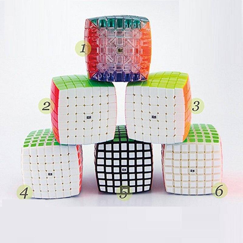 YJ MoYu AoFu 7X7X7 Speed Puzzle Cube Professionnel Twist Cubes Cubo Magico Classique D'apprentissage Jouets Éducatifs enfant Cadeaux Bateau Libre