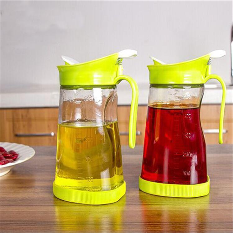 500ml olive oil and vinegar glass dispenser storage bottles cruet
