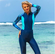 SBART Swimwear Women Hooded Diving Suits Print Swimsuit Female Wetsuits Scuba Snorkeling One Pieces Rash Guards