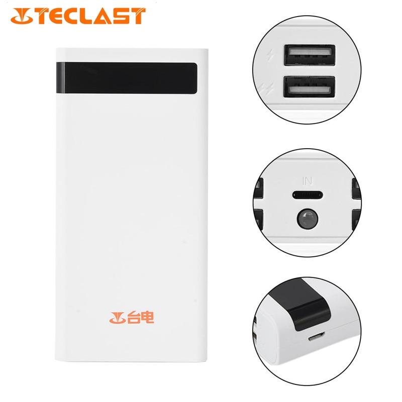 imágenes para Original teclast t200ce 20000 mah banco portable de la energía 4 salida usb cargador de batería externo de reserva para ios android tablet teléfono