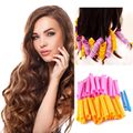 24PCS orange pink curlers thick hair base DIY Hair curler curling iron Styling tools beautiful curls 100% BRAND NEW