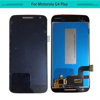 Tested 3pcs For Motorala Moto G4 G4 play G4 plus XT1607 XT1644 full LCD Display Assembly Complete with touch Screen Replacement