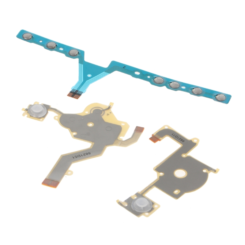 Brand High Quality Direction Cross Button Left Right Key Volume Flex Cable Replacement For Sony PSP 3000 Game Accessory