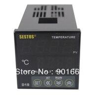 Sestos Dual Digital PID AC DC 12 24V Temperature Controller SSR Relay Output D1S