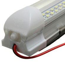 1x 12V 72 LED Car Interior White Strip Lights Bar Lamp Van Caravan ON OFF Switch Car Accessories Car Lighting # Z