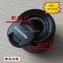Novo 40.5mm lens cap frente/centro pitada snap-on tampa para samsung nx1000 nx2000 nx3000 nx1 i-fn 20-50mm f/3.5-5.6 ed lens