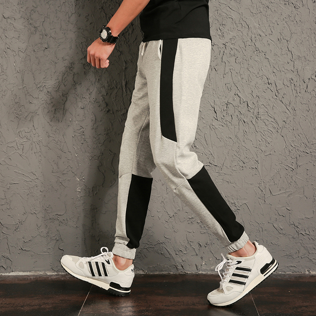 eb9d1da19e66 2018 Top Fashion Casual Men Pants New Design Brand Sweatpants Long Pant  Boys Slim Fit Trousers Men Harem Pants Pantalon Homme