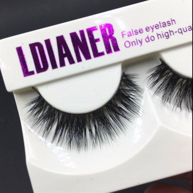 1 Pair New Mink Hair Natural Long Thick False Fake Eyelashes Eye Lashes Makeup Extension Beauty Tool