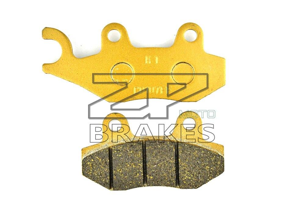 Motorbike Brake Pad Organic For KAWASAKI KLR 650 (KL 650 E8F/E9F) 2008-2009 Rear BRAKING NEW стоимость