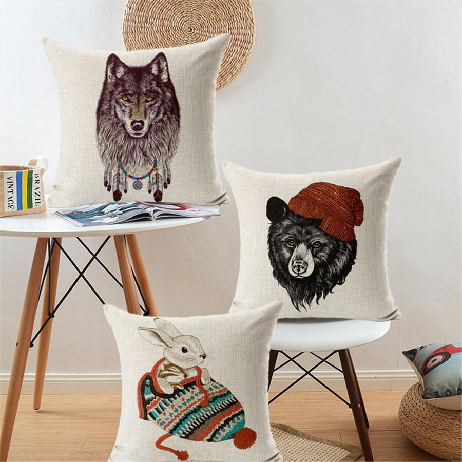 Bear Decorations For Home: Bear Lion Rabbit Cartoon Christmas Decorations For Home