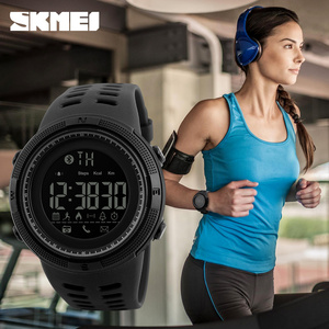 Image 3 - SKMEI Outdoor Sport Smart Watch Men Bluetooth Multifunction 5Bar Waterproof Digital Watch Men For Android IOS reloj hombre 1250