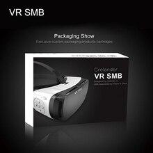 """กล่องขายปลีกเดิมG Oogleกระดาษแข็งVR SMBจริงเสมือนVRแว่นตา3Dหมวกกันน็อกที่มีคุณภาพสูงโทรศัพท์สำหรับ4.5 """"-5.5″มาร์ทโฟน"""