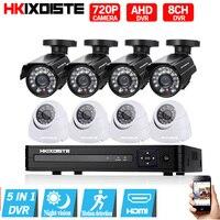 2000TVL 720P HD Indoor Outdoor CCTV Camera Security Camera System 1080N Home Video Surveillance DVR Kit