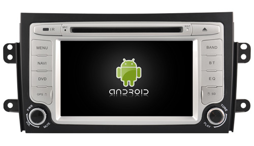 Quad Core Android 5 1 1 CAR DVD player navigation FOR SUZUKI SX4 2006 2012 car