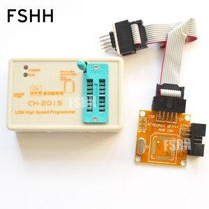 Image 3 - CH2015 Inteligente de Alta Velocidade Programador USB + interface do ISP AVR TQFP32 TQFP44 TQFP64 com soldada placa de Programação AVR MCU