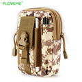 Floveme nylon militar saco da cintura 5.5 desporto ao ar livre tactical case bolso casos para iphone7 6 6 s plus samsung galaxy s8 s6 s7 borda
