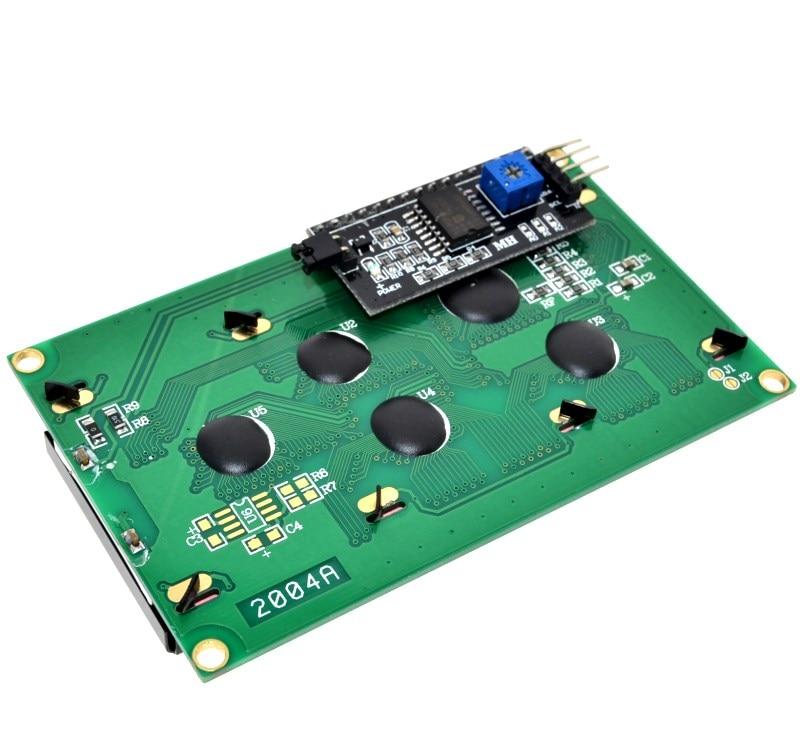IIC/I2C/TWI 2004 Serial Blue Backlight LCD Module for Arduino UNO R3 MEGA2560 20 X 4 2004IIC/I2C/TWI 2004 Serial Blue Backlight LCD Module for Arduino UNO R3 MEGA2560 20 X 4 2004