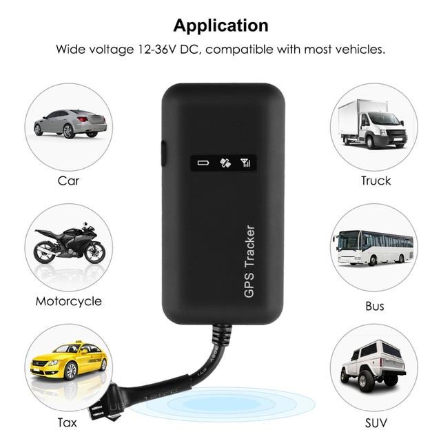 Mini GPS Car Tracker GPS Locator Cut Off Fuel TK110 GT02A GSM GPS Tracker For Car 12-36V Google Maps Realtime Tracking Free APP 2