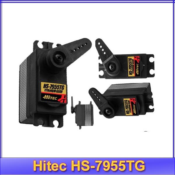 Hitec HS-7955TG Ultra Torque Ti Gear Digital Servo 7955+Free shipping