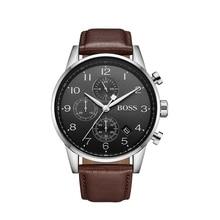 BOSS Navigator Classic Men Watch Fashion Leather Chronograph Mens Quartz Wrist - 1513494