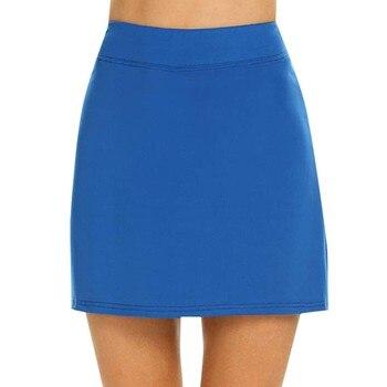 Performance Active Skorts Skirt skirts womens plus size pencil skirts womens Running Tennis Golf Workout Sports Natural Mar 1