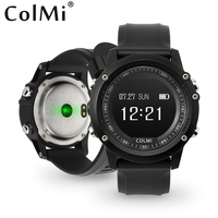COLMI T2 IP68 Waterproof Heart Rate Monitor Push Message Call Reminder Clock Bluetooth 4 0 Brim