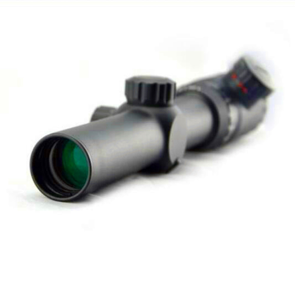 Visionking 1.25-5x26 Rifle scope Hunting 30 mm tube Mil dot Reticle 223 5.56