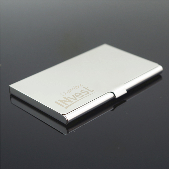 Personalized metal business card holder custom logo engraved personalized metal business card holder custom logo engraved business name card holder case pocket wallet id colourmoves