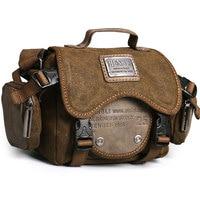 Retro camera bag men shoulder bags leisure wear resistant canvas cross messenger bag Unisex casual crossbody Bags
