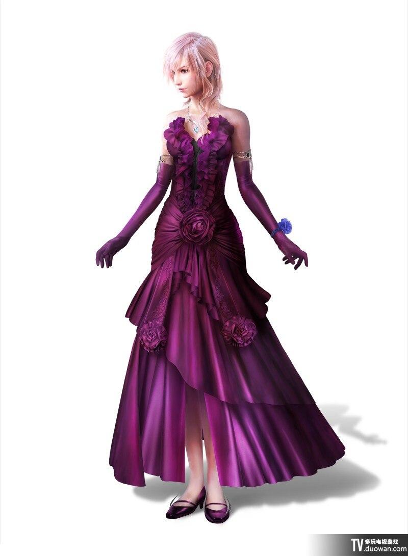 Final Fantasy XIV FF14 International service dress Cosplay Costume