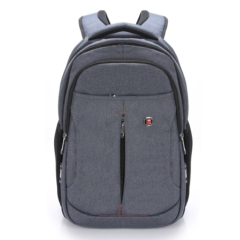 ФОТО Plain Brand High Quality Waterproof Nylon Backpack Female Unisex Men's Backpacks for Laptop Women Notebook Bag Backpack 14 To17