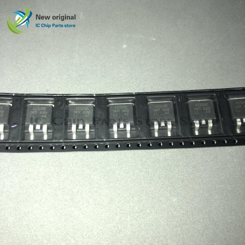 Free shipping 10PCS/LOT 43CTQ100S 43CTQ100 TO-263(China)