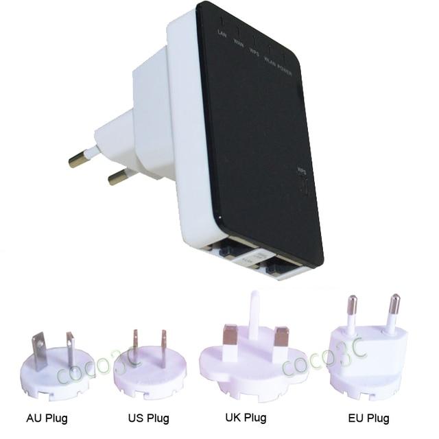 300 Mbps Wireless Router Wifi Repeater Rede Faixa Expander 2.4G Roteador Wifi Signal Booster Amplificador Repetidor Sem Fio-N