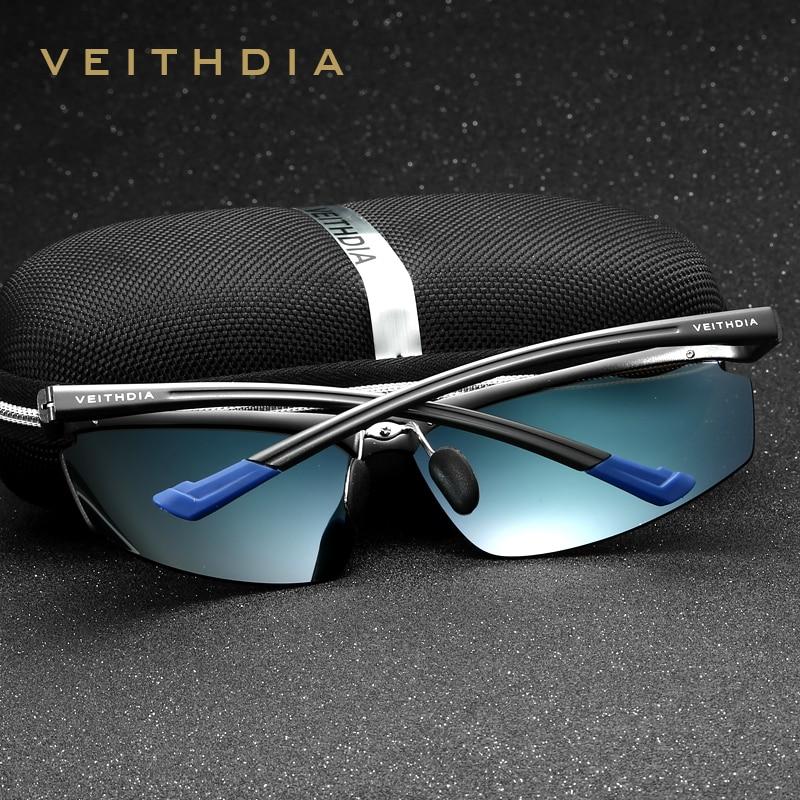 Aluminium Magnesium Rimless Sonnenbrillen der Männer polarisierte - Bekleidungszubehör - Foto 2