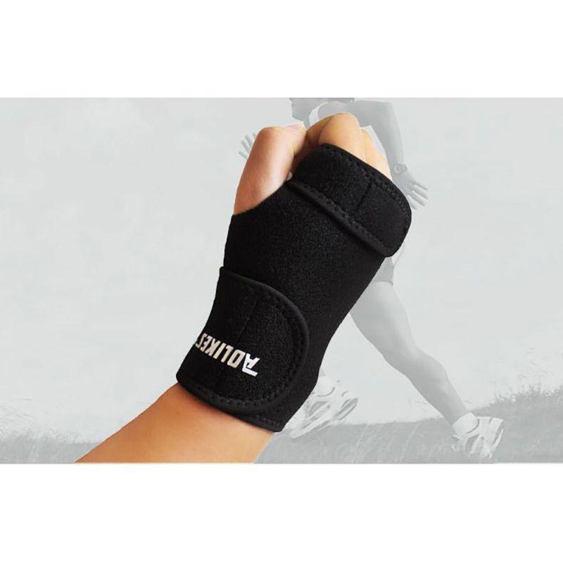 Removable Adjustable Wristband Steel Brace Wrist Support Splint Arthritis Sprain Sports Protector A