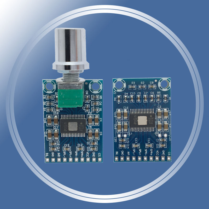 HALJIA TPA3110 2X15W Digital Audio Stereo Amplifier Module Dual Channel 12V High Power Mini Binaural AMP Controller 100dB