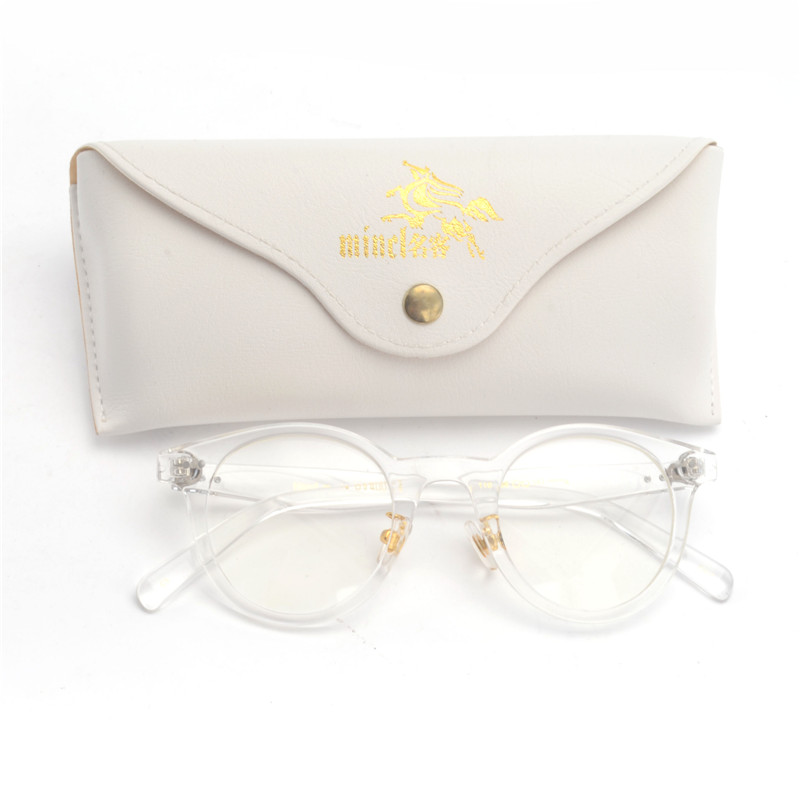 17d037c06af 2019 MINCL  Fashion Women Cat Glasses Frames Round Clear Eyeglasses ...