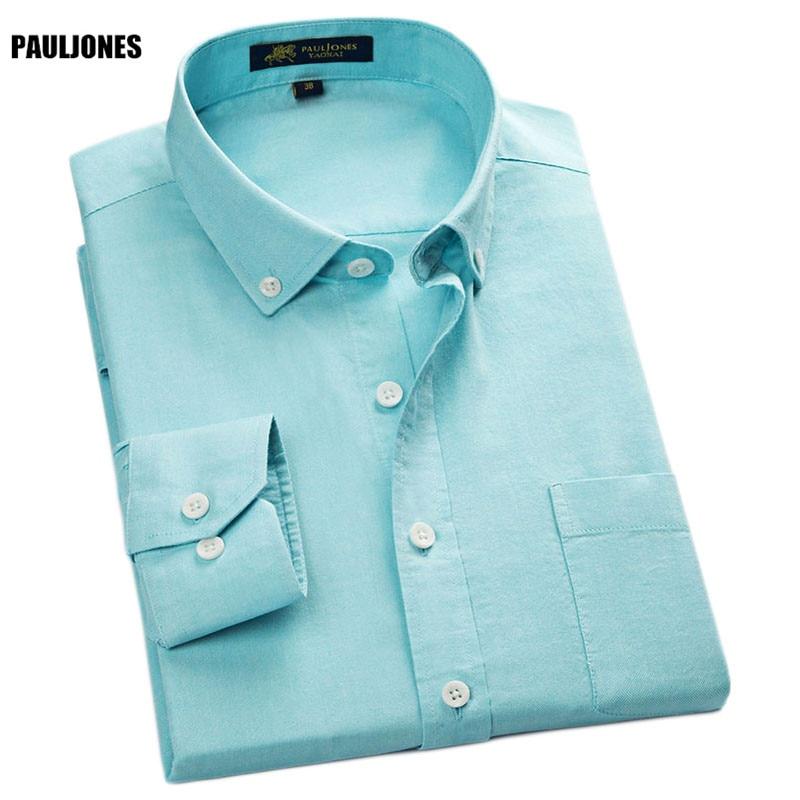 PaulJones 114x 2017 Мъжки Дълъг Ръкав Мъжки - Мъжко облекло