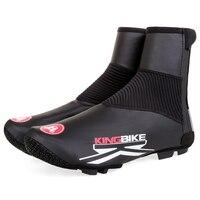 BATFOX NEW Cycling Shoe Covers Rain Size 36 46 Winter Black Green Fleece Warm Bicycle Accessories