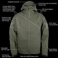 TAD Gear Lurker Shark Skin Soft Shell TAD V 4 0 Outdoors Military Tactical Jacket Waterproof