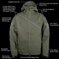 TAD Gear Lurker Shark Skin Soft Shell TAD V 4 0 Outdoors Military Tactical Jacket Waterproof