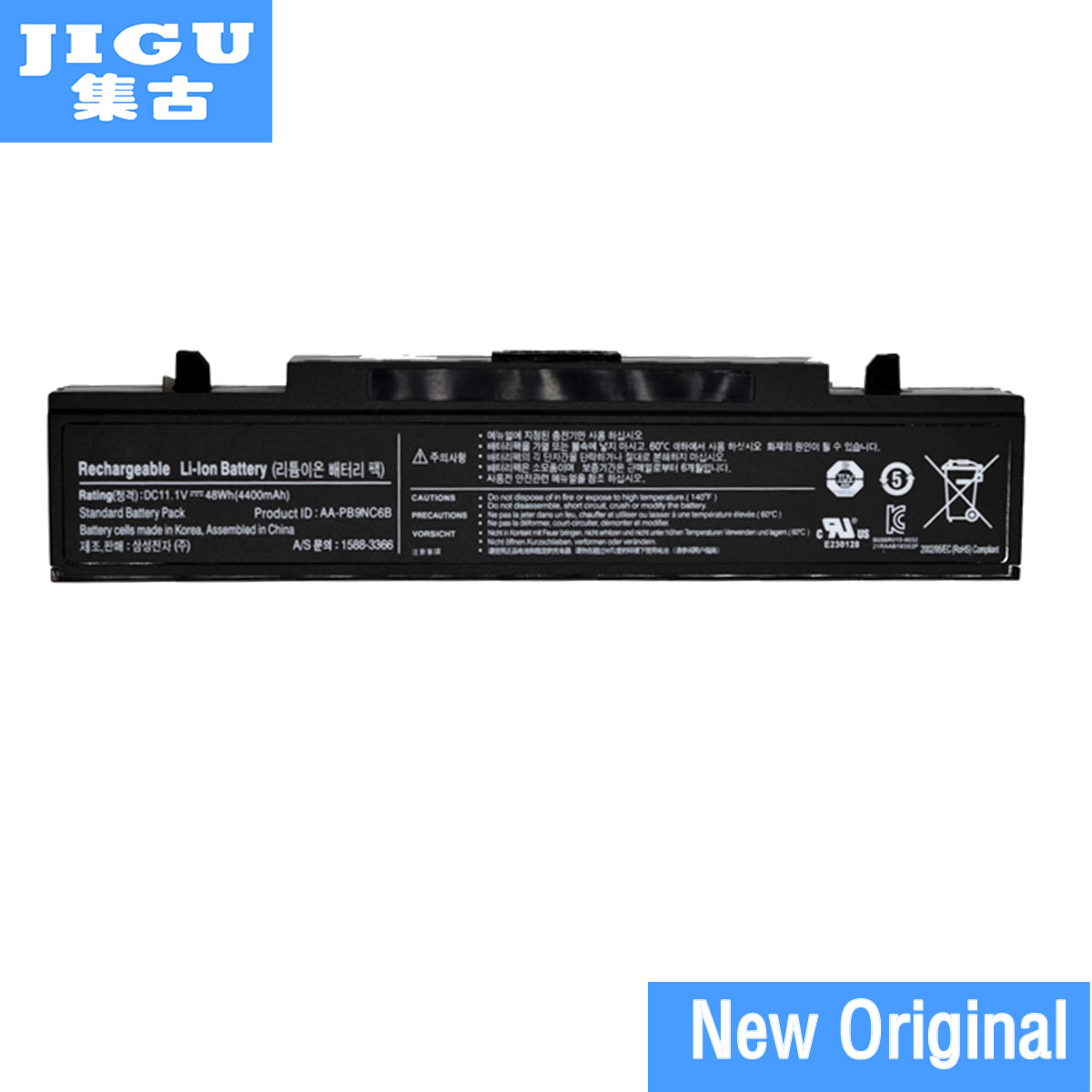 JIGU Original Laptop <font><b>Battery</b></font> For <font><b>SAMSUNG</b></font> R470 R478 R480 R500 R507 R517 R518 <font><b>R519</b></font> R520 R522 R530 R540 R580 R590 R700 image