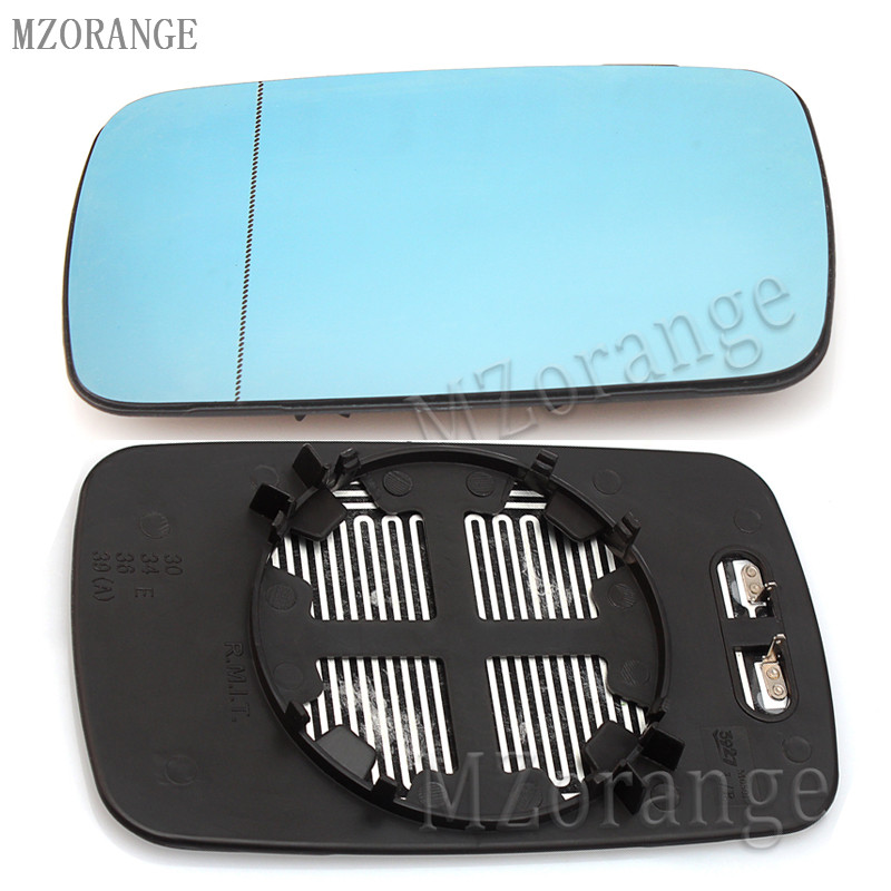 Right Driver Side Heated Blue Wing Mirror Glass for BMW 3 Series E36 1990–2000