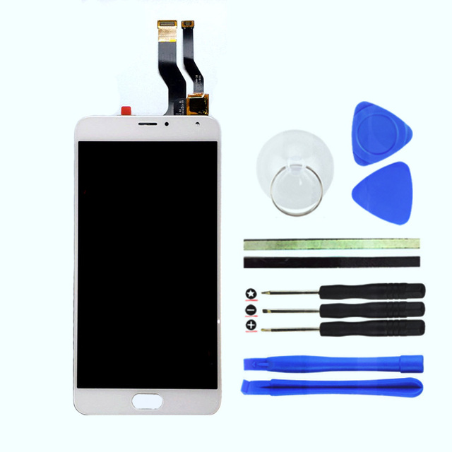For Meizu M1 Metal LCD Display Touch Screen+Digitizer Assembly Replacement Meilan M1 Metal Cell Phone Parts